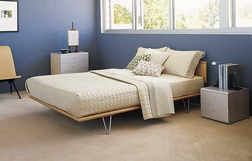 case study bed indigo and white bedroom flickr photo. Black Bedroom Furniture Sets. Home Design Ideas