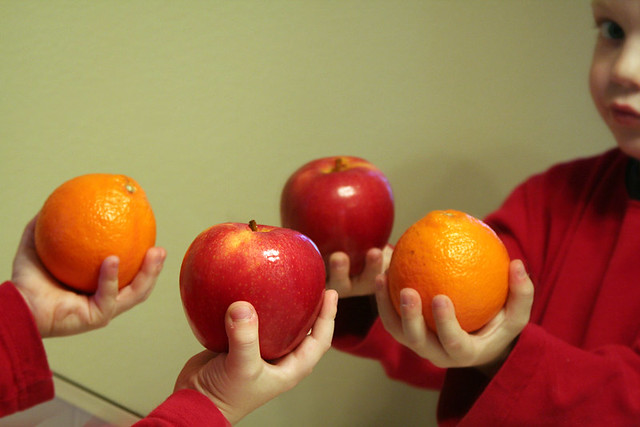 Apples and Oranges by Automania on Flickr