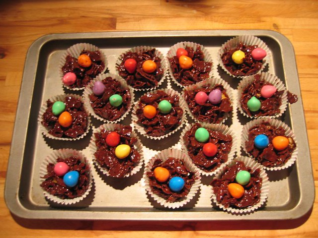 Chocolate Cornflake Cakes No Butter