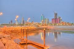 Kuwait City Late Evening