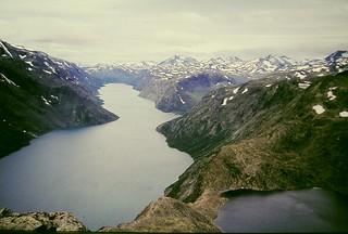 Besseggen  July 1976