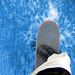 Skateboarding Through Water by Christiaan Leever NL
