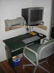 art, furniture, desk,