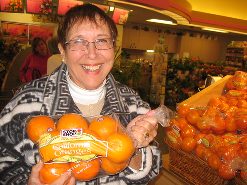 Millie Garfield and Florida Oranges