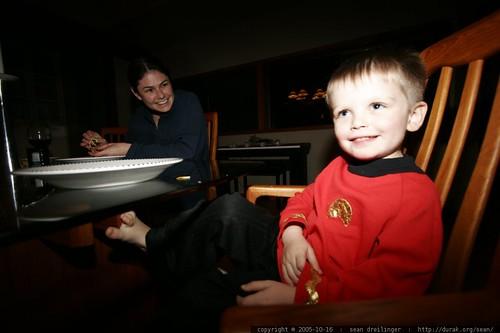star trek uniform   nick as a star fleet engineer