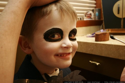 jack skellington in makeup