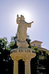 Los Montesinos statue