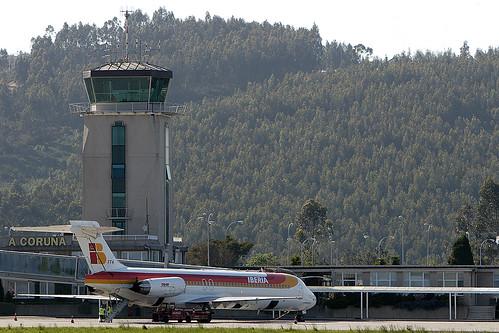 Torre de control de Alvedro