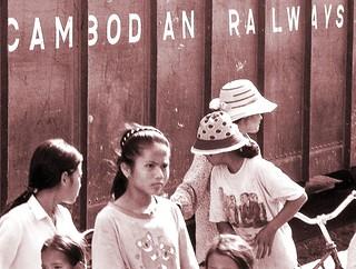 Cambodia Railroad 2000