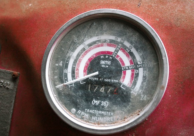 Tractor Hour Meter Gauges : Model tractor hour meter flickr photo sharing