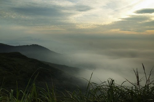 樹林大同山區雲海