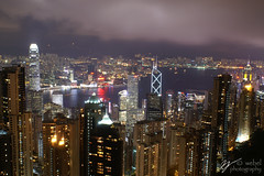 HK Skyline (Looking East)