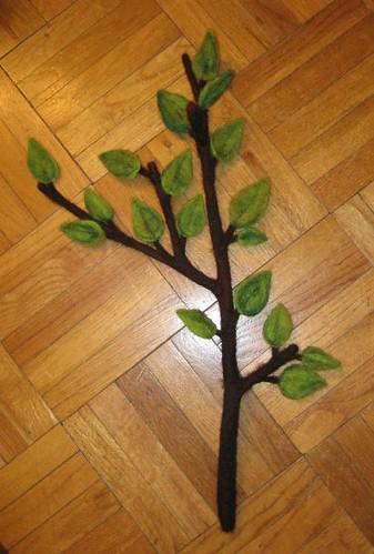 felt tree branch | Flickr - Photo Sharing!