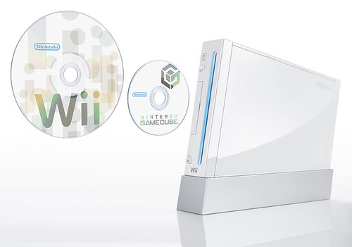 Wii Disc Compared to GameCube Disc