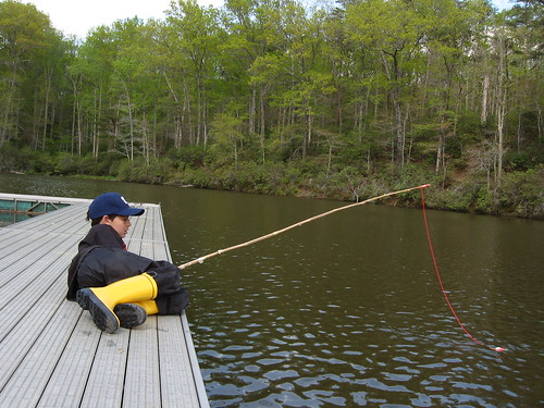 Fishing in Prince William Forest