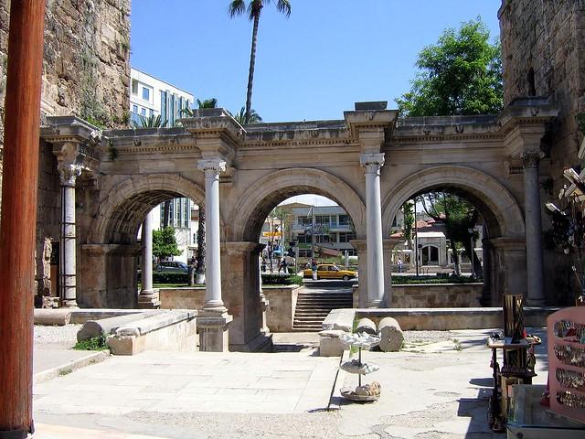 Hadrians Gate, Antalya  Flickr - Photo Sharing!