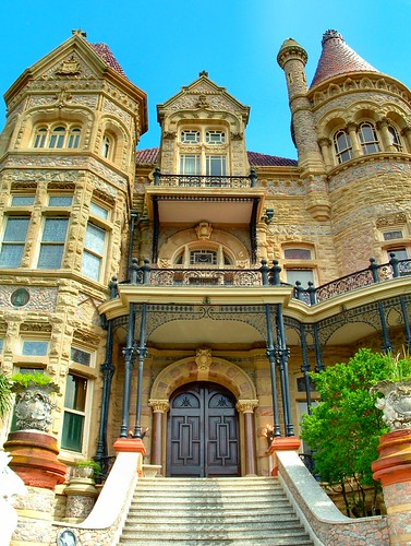 galveston castle history museum architecture island texas tx 1800s victorian houston palace historic institute american era historical mansion architects galvestonisland gresham bishop byrne 1890s bishopspalace diocese archdiocese houstonist houstonistcom nhrp טקסס top20texas