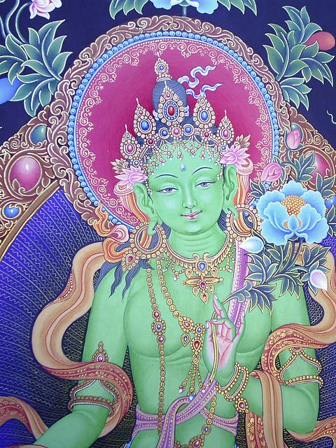 #10a Newari Green Tara SHANKAR