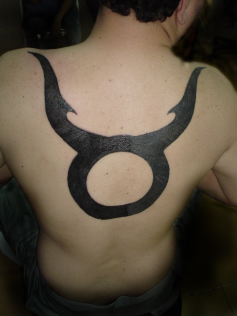 THE SiXTY NiNE TATTOO ''Black taurus