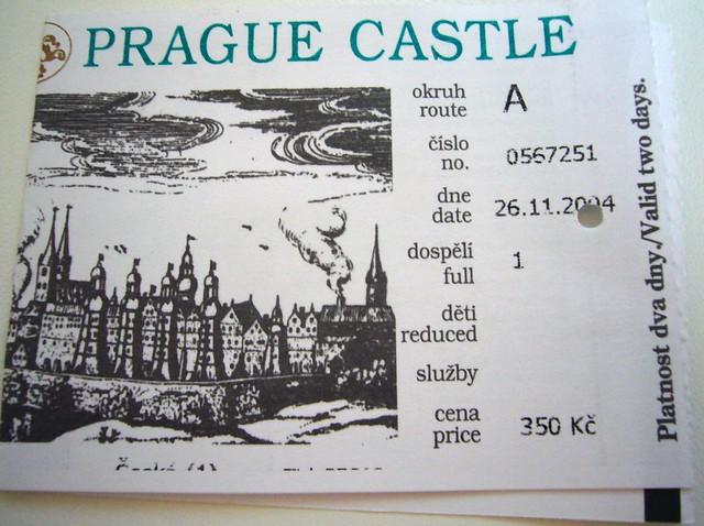 26 November 2004 - Prague Castle
