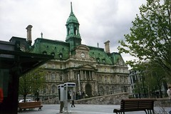 Montreal - Vieux Montréal: Hôtel de Ville de Montréal