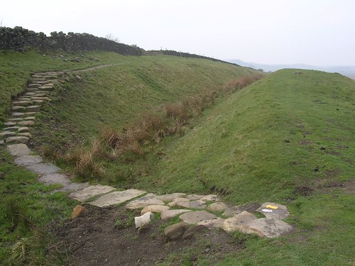 The Trail crosses the ditch