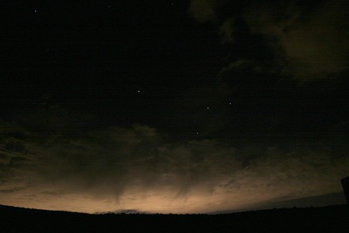 Salt Lake Light Pollution Seen From Park City