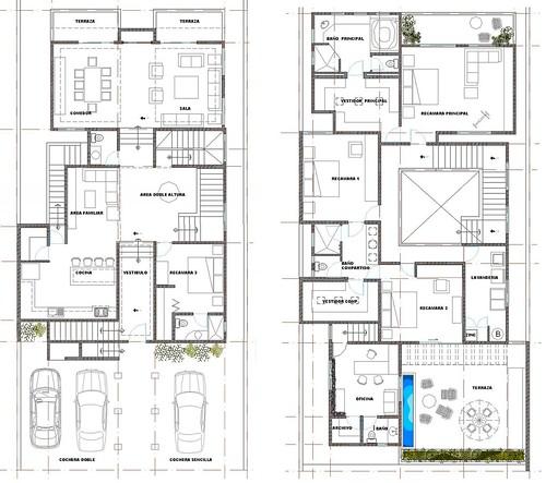 Plano de remodelaci n marce garal architecture for Planos arquitectonicos de casas