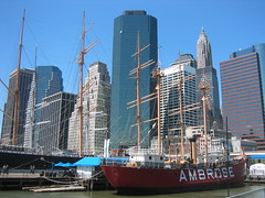 NYC: South Street Seaport and Ambrose by wallyg, on Flickr