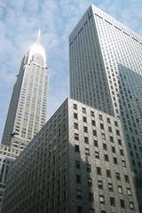 NYC: Chrysler Building and Mobil Building