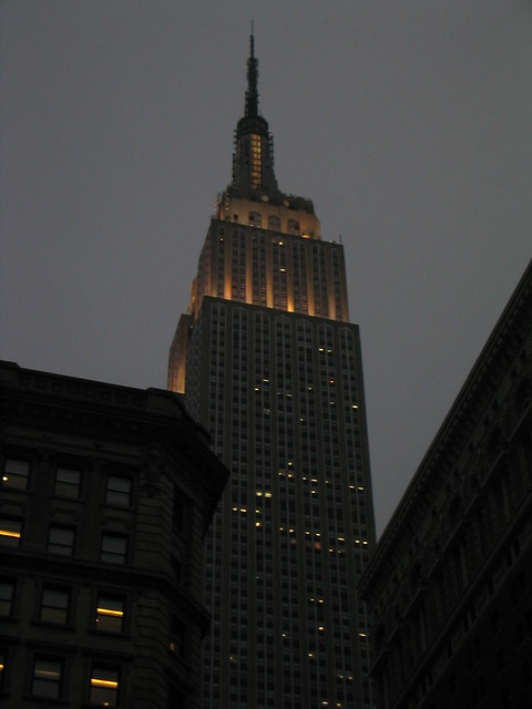 Empire State Building At Night Nyc Flickr Photo Sharing