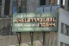 NYC: National Debt Clock