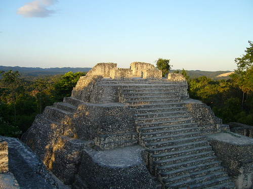 Top of Caana Caracol Belize