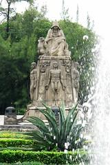 Fuente en el Castillo de Chapultepec