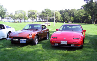 Datsun 280z and Nissan 300zx
