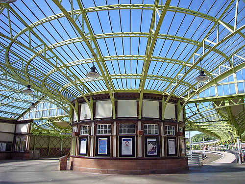 Wemyss Bay railway station ticket office
