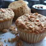 Erdnuss Haferflocken Muffins
