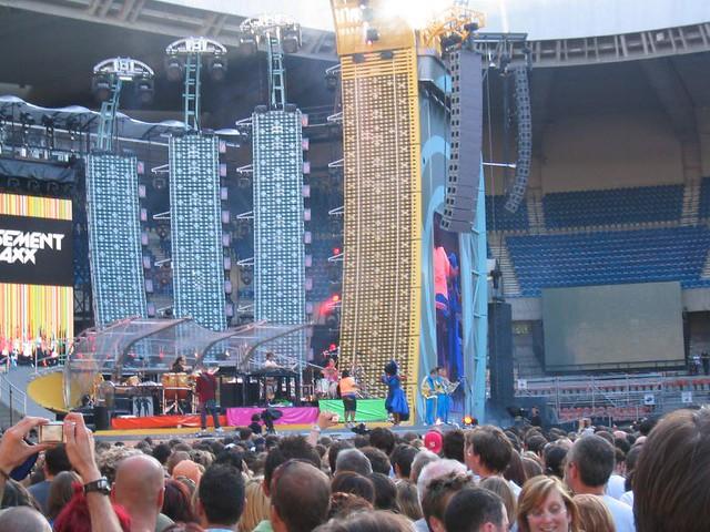basement jaxx on stage in paris 17 06 06 flickr photo sharing