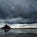 Baie du Mont Saint Michel par temps d'orage by photigule