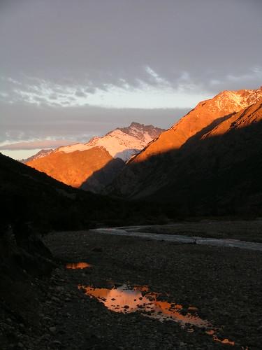 chile sunset paisajes mountain sunrise landscape atardecer 2006 reflejo andes invierno montañas mountainsandes chilecentral regióndeo´higgins