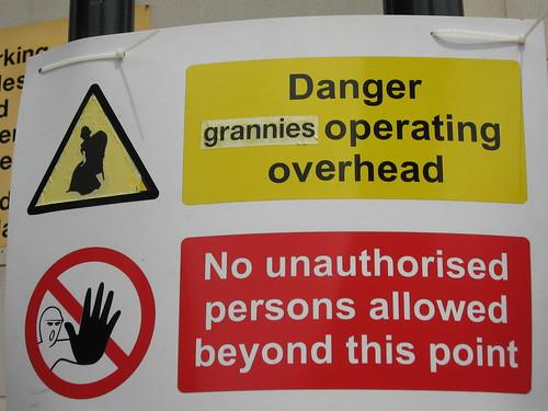 Dangerous grannies