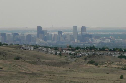 科羅拉多州丹佛市區的空氣汙染情況。(圖:Rick Kimpel)