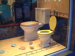 toilet family