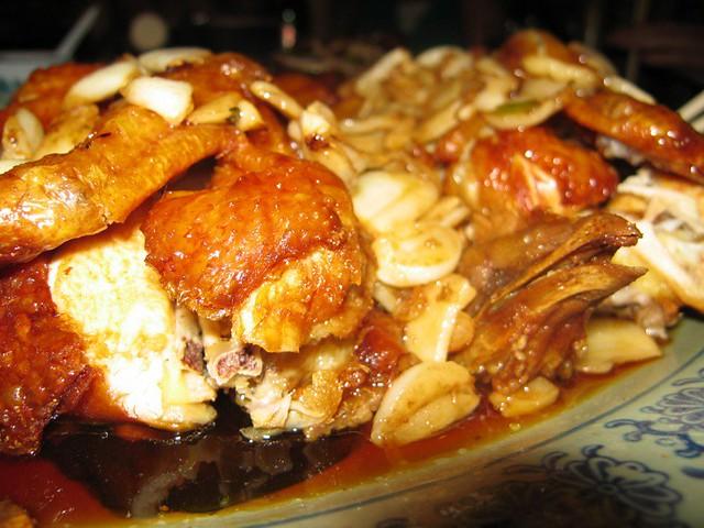 peking chicken @ congee village | Flickr - Photo Sharing!