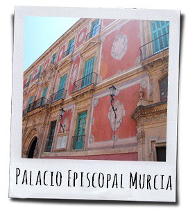 Het bisschoppelijk paleis van Murcia