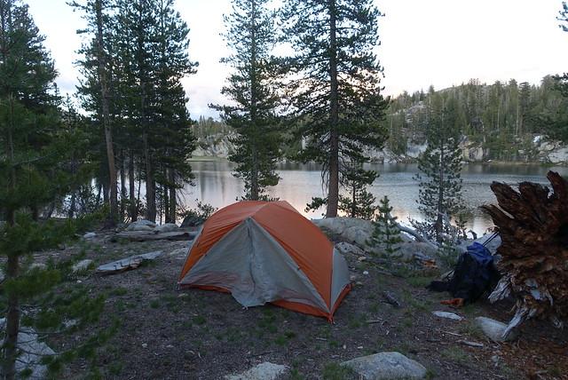 Campsite, Miller Lake, m959
