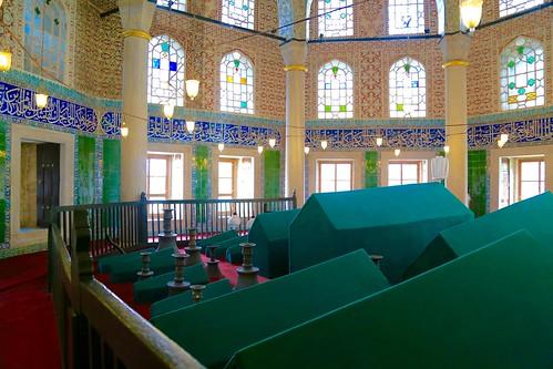 Sultan tombs outside of Hagia Sophia