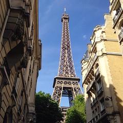 The #Eiffel Tower. Wooohooo! #Travel #wanderlust #Paris