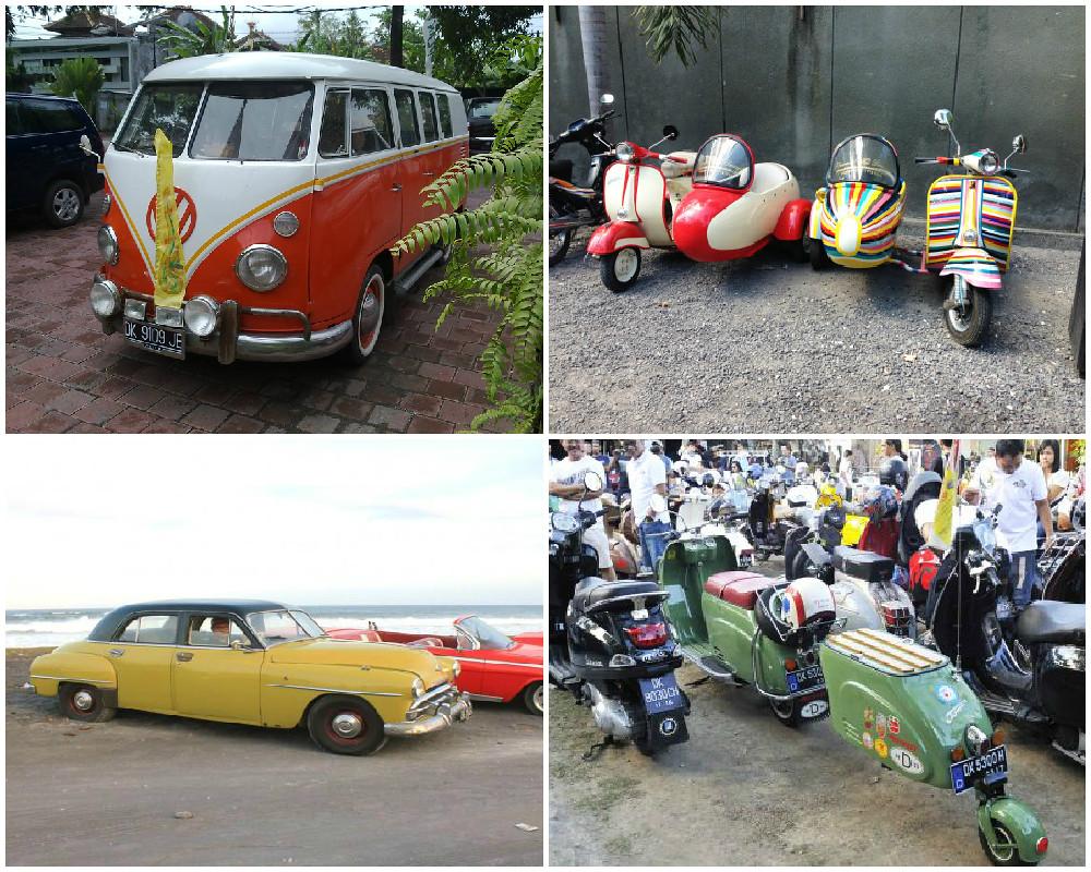 11. Vintage-Cars-VW-Kombi-Van-by-balithecreativesojourn, exoticridesbali, heinkelscooter
