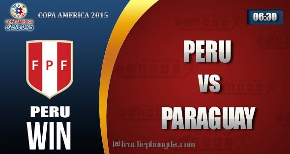 Peru, Paraguay, Thông tin lực lượng, Thống kê, Dự đoán, Đối đầu, Phong độ, Đội hình dự kiến, Tỉ lệ cá cược, Dự đoán tỉ số, Nhận định trận đấu, Copa America, Copa America 2015, Vô địch Nam Mỹ, Vô địch Nam Mỹ 2015, Tranh hạng Ba Copa America 2015